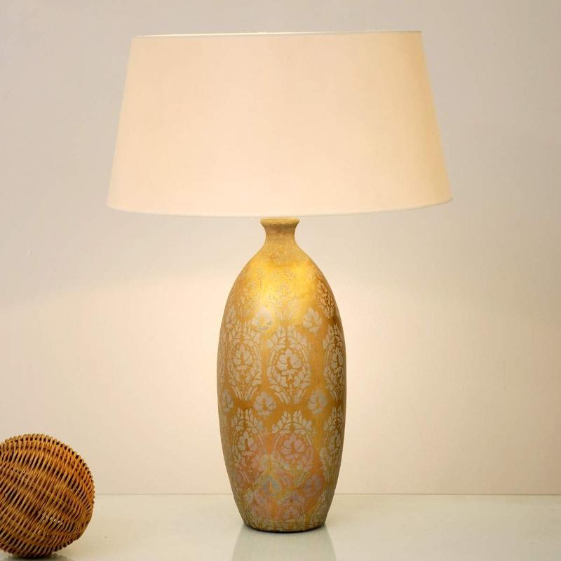 Lustrous table lamp Barocco Alta - Table Lamps
