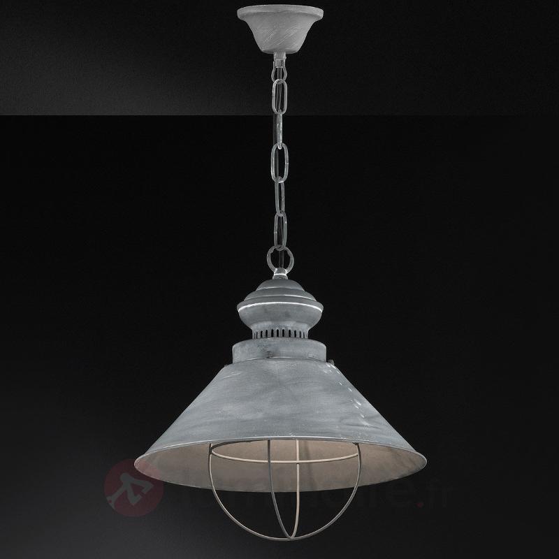 Suspension métallique Basket I gris foncé - Cuisine et salle à manger