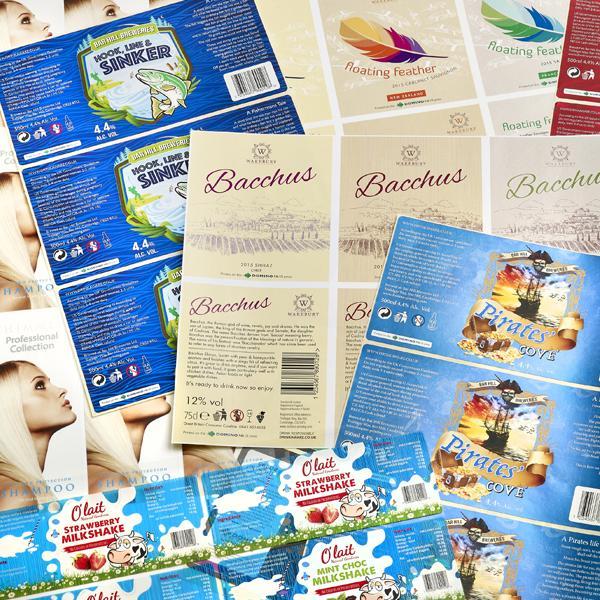 Etichette per acque minerali - Tutte le le soluzioni per la codifica e marcatura e labelling di etichette...
