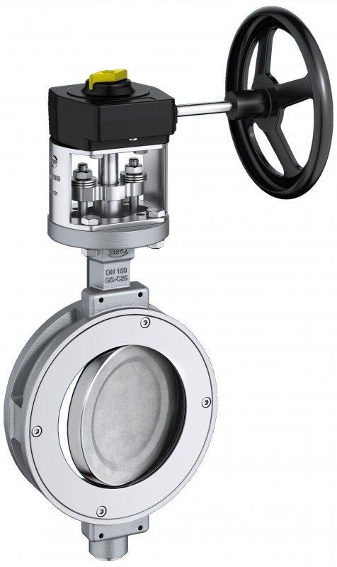 Válvula de cierre y control tipo HP 111 - Válvula de alto rendimiento adecuada para altas presiones y altas temperaturas.