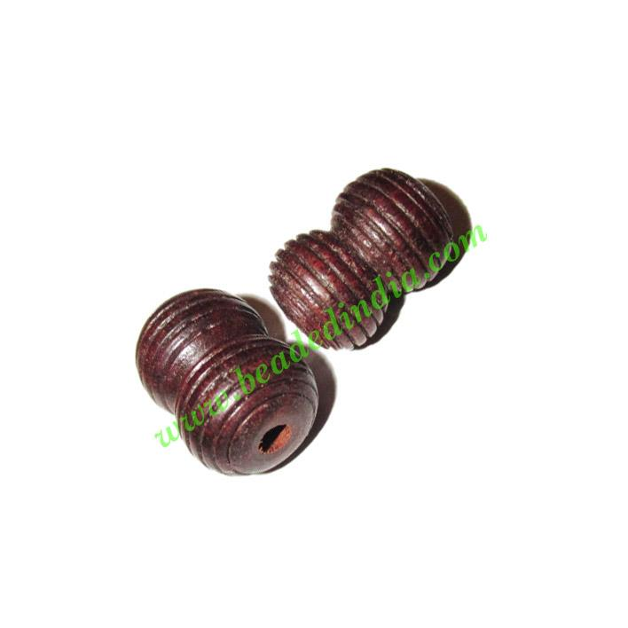 Rosewood Beads, Handcrafted designs, size 13x20mm, weight ap - Rosewood Beads, Handcrafted designs, size 13x20mm, weight approx 2.38 grams