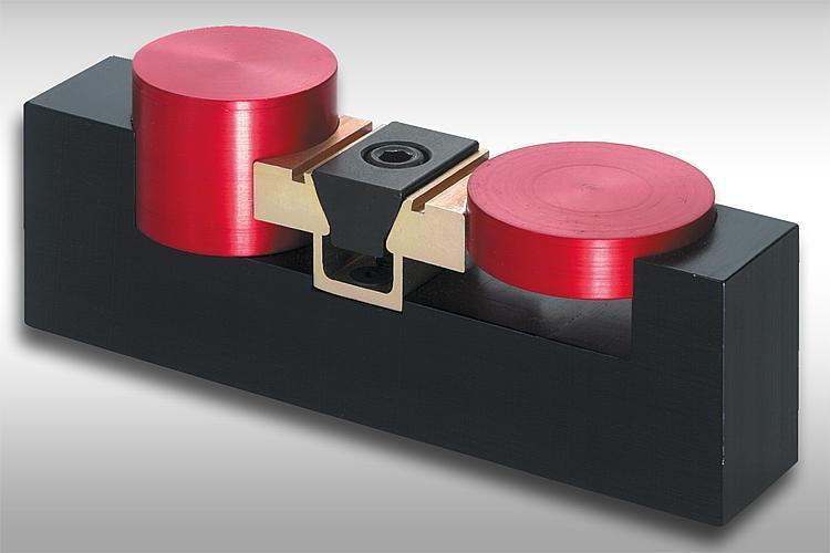 Dispositif de serrage prismatique double avec... - Système de bridage multiple