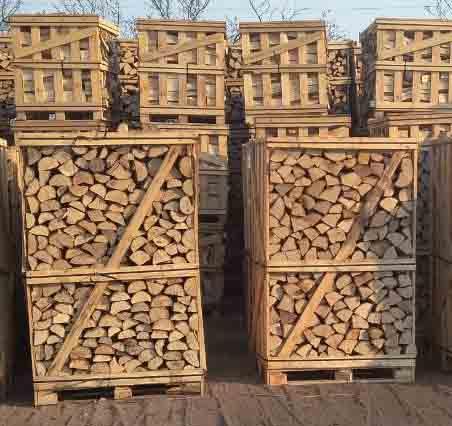 дрова колотые - граб, дуб