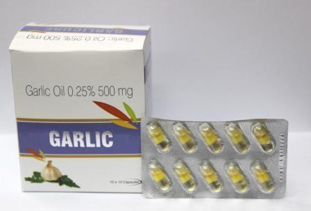 Garlic Oil Capsules - Garlic Oil Capsules