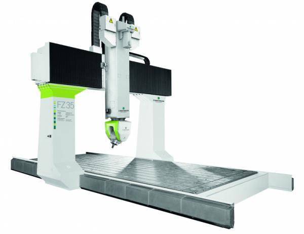CNC Portalfräsmaschine FZ35 - 5 Achsen - FZ35 für die wirtschaftliche Bearbeitung von Metallen bis Kunststoff