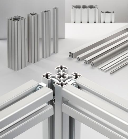 Sistemas de perfiles de aluminio BLOCAN® - El sistema de montaje sin mecanizado