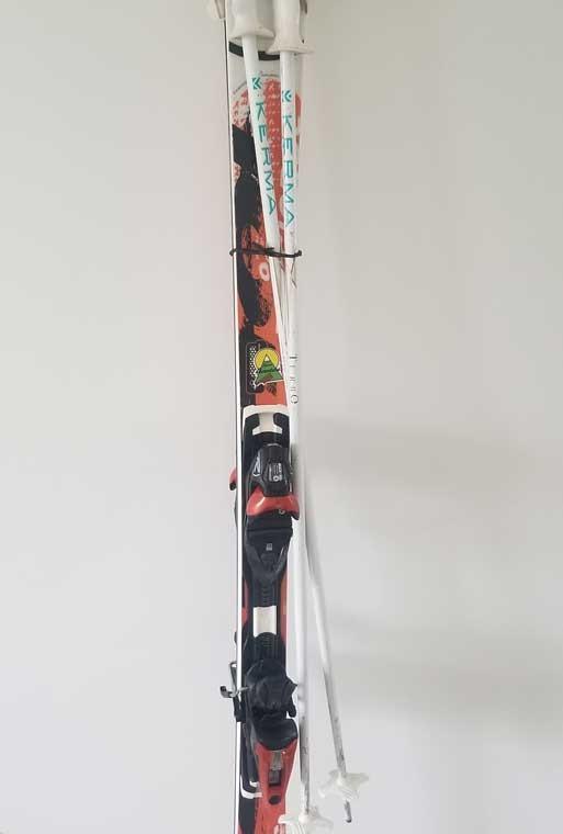 Attache ski - élastique 140mm par 10 - Attache élastique