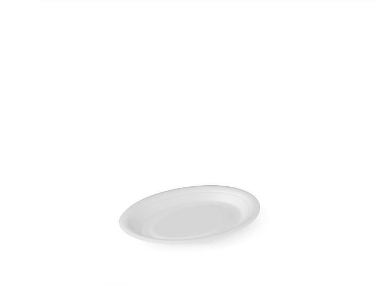 260 mm oval plate, non-laminated - Plates and bowls