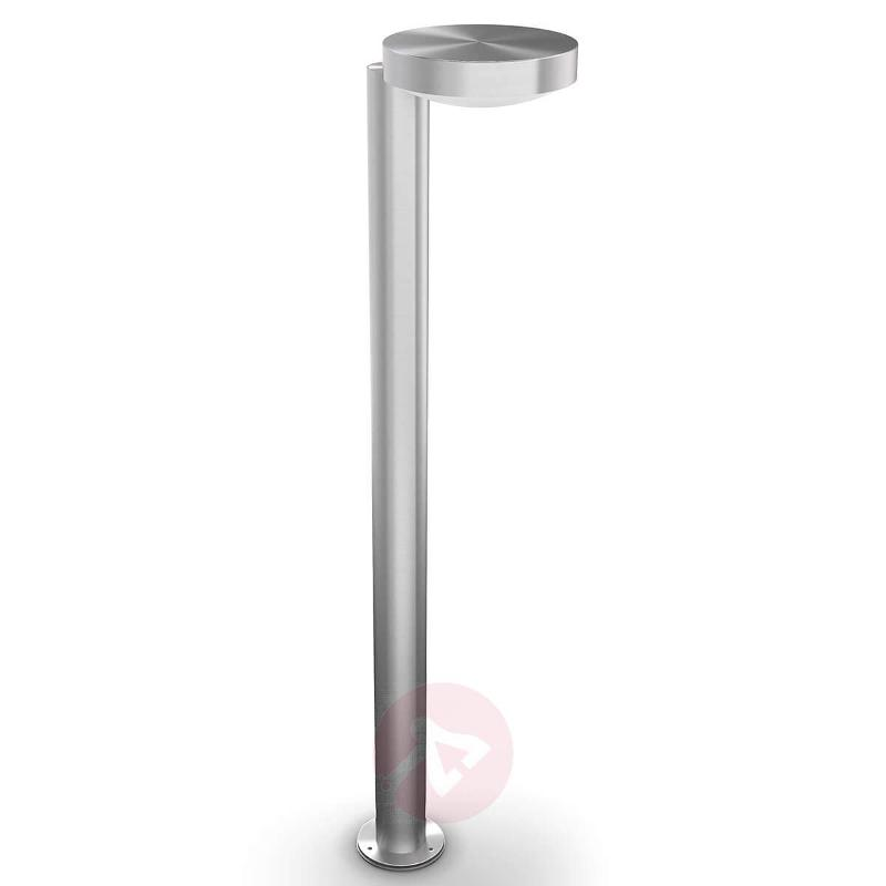 Cockatoo - stainless steel LED path lamp, 2,700 K - Path and Bollard Lights