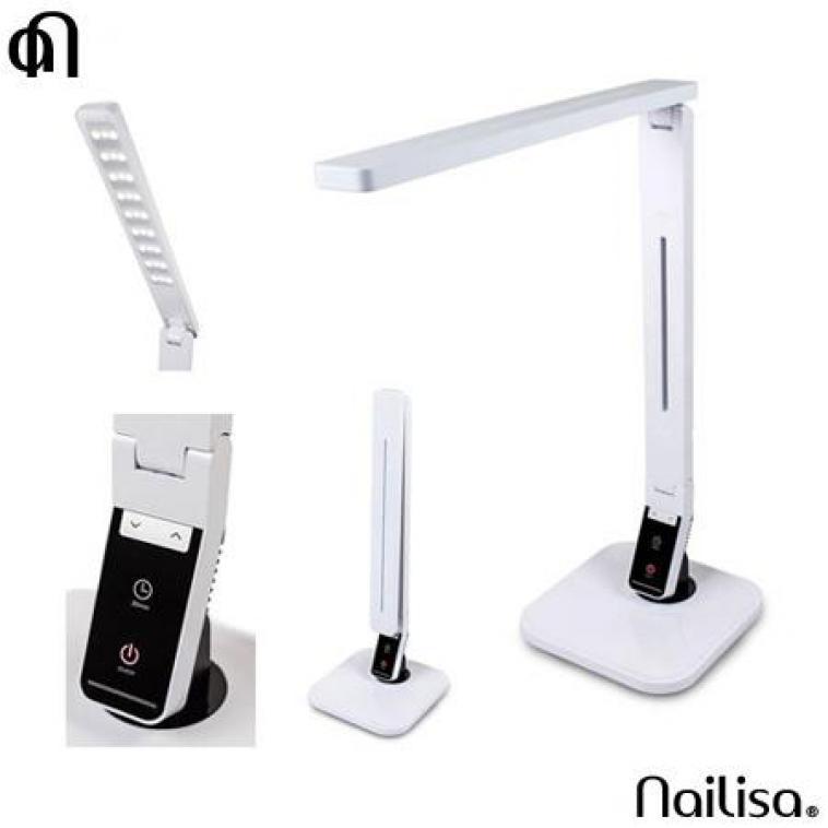 Lampe LED de table blanche - Lampes & Aspirateurs