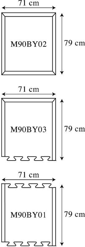 Tapis antifatigue connectable - M90 - Tapis antifatigue et ergonomique