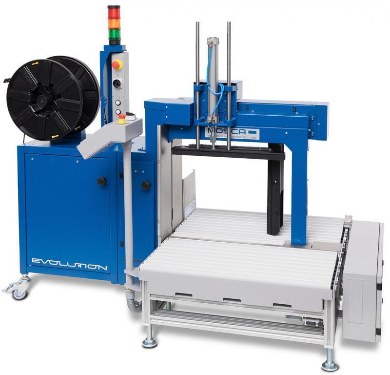 Evolution Sonixs MS-6 with Roller Conveyor MS-6 Pro - 带滚筒输送装置的全自动侧向打包机