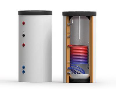 Edelstahl-Trinkwasser-Speicher EDS-1W 150 – 1000 - Speicher