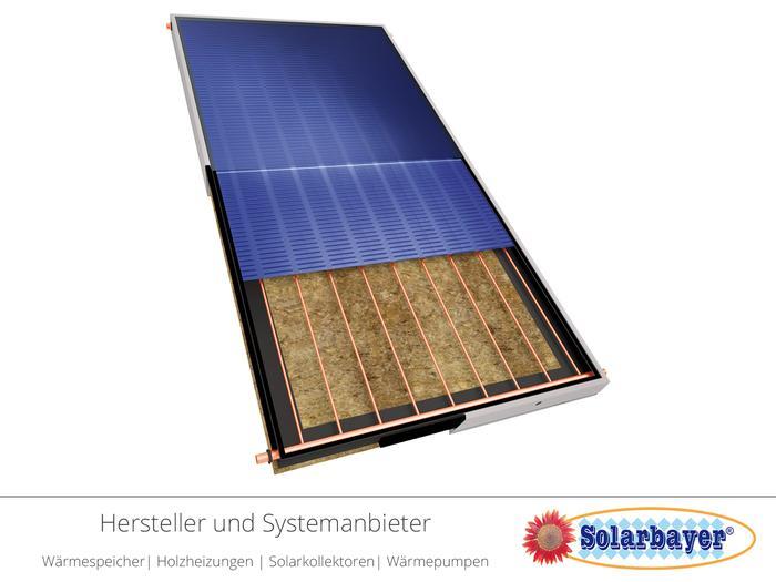 Solarbayer Solarkollektor  - Flachkollektor SilverSun