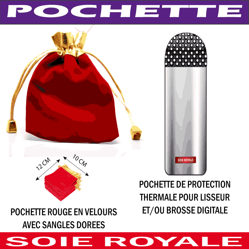 Pochette Protection Thermale Soie Royale