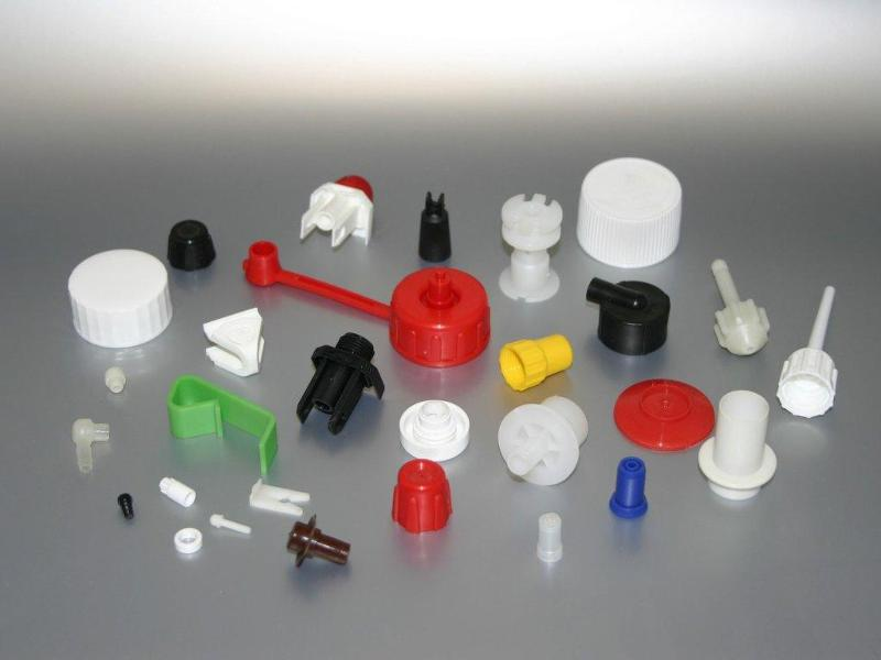 Plastic parts - Small parts made of POM, PP, PA, PE-LD