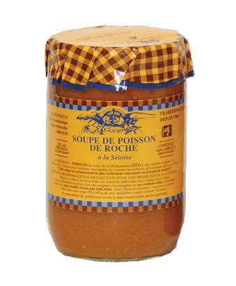 Soupe de Poisson de Roche - Produits de la mer