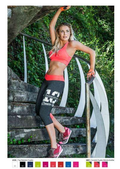 Moda Fitness - Top Nadador Suplex