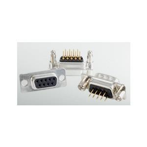 """D-SUB Standard Connector - D-SUB Standard Solder pin – Angled – .370"""" 9.4 mm – Precision machined contacts"""