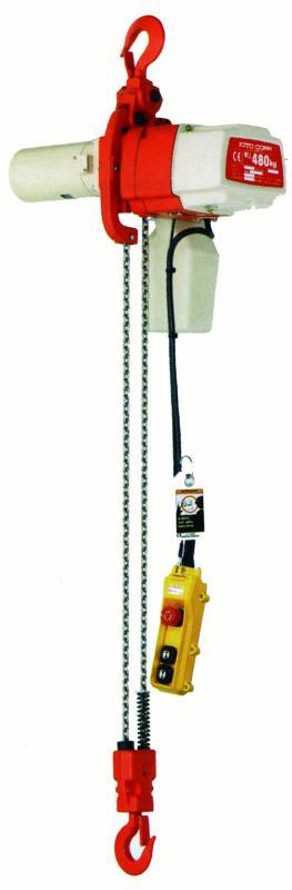 Palans électriques à chaîne - usage intensif - Palan KITO ED monophasé