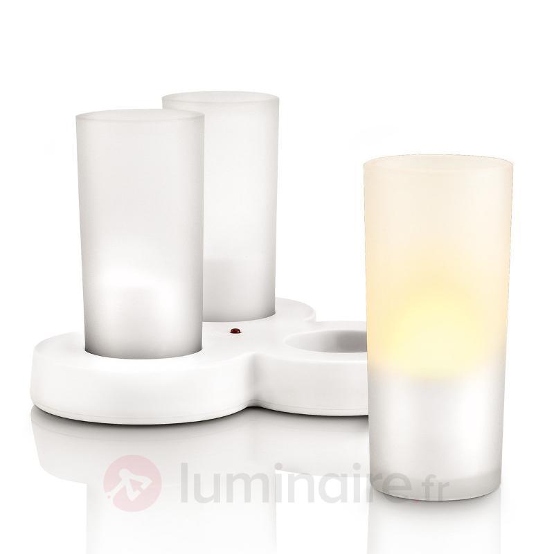 Photophores IMAGEO avec technologie LED sûre,jaune - Bougies LED