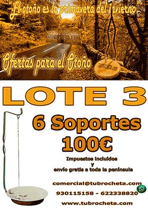LOTE O-3 - SOPORTE PARA BROCHETA