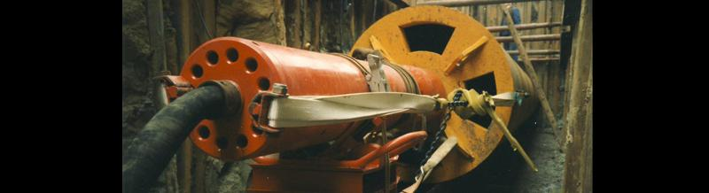 Rohrvortriebsmaschinen