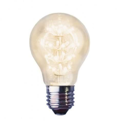 E14 0.9 W LED candle bulb clear, warm white 2100 K - light-bulbs