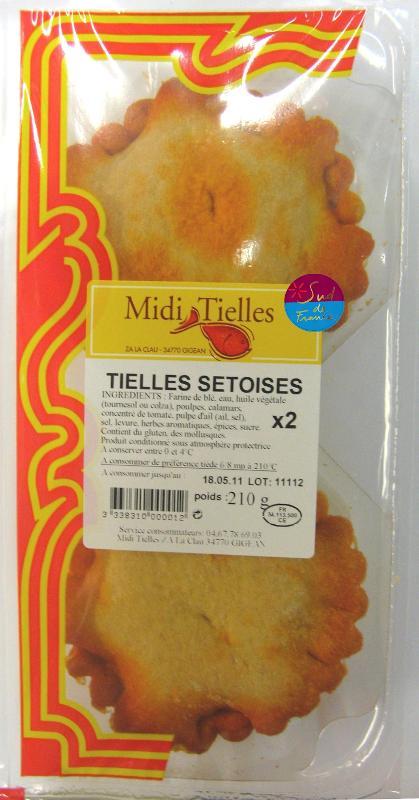 TIELLES SETOISES 105G X2 - Produits de la mer