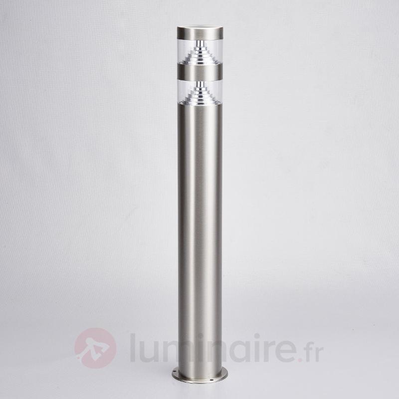 Borne lumineuse LED Lanea en inox 60 cm - Bornes lumineuses LED