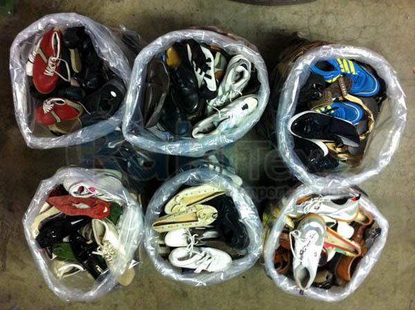 Chaussures usagées été -