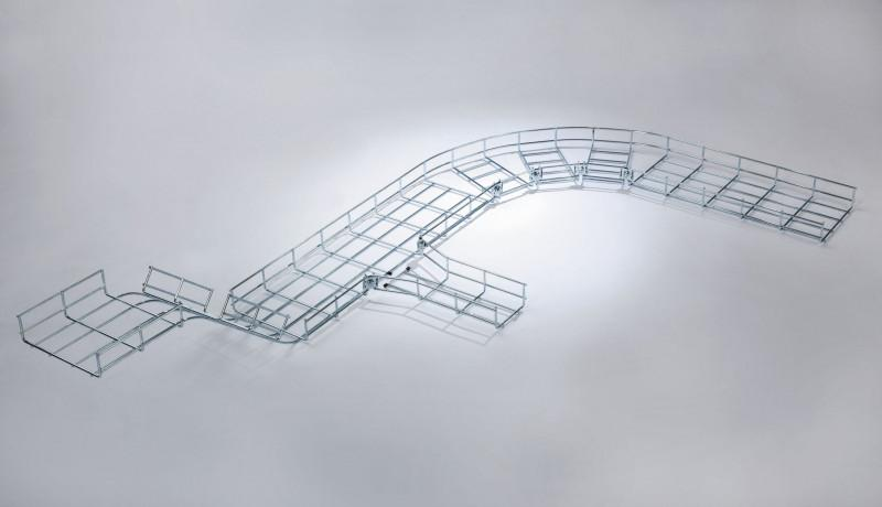 Wire-tray Trunking: variable cable routeing - Wire-tray Trunking: variable cable routeing