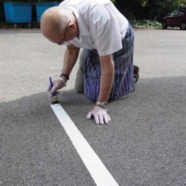 Peinture marquage au sol extérieure - Marque'bitume