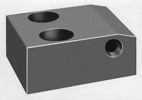 Slideway locking cylinder, single acting - Article ID 1491000