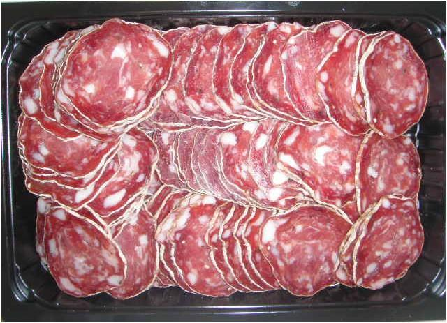 Tranches saucisson sec au filet pur porc - Viande et volailles