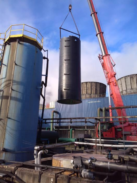 Amargo Products - Biofilter, Wäscher, Wassertanks, Chemietanks, Kunststofftanks