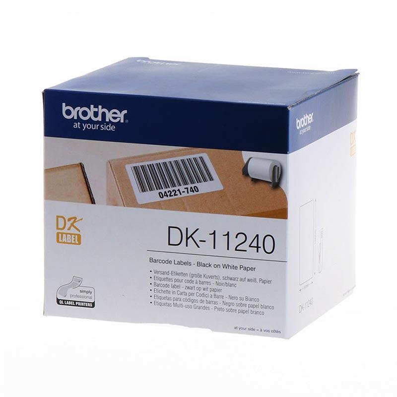 Papier - Brother Versand-Etiketten DK-11240 standard capacity 11240 weiß