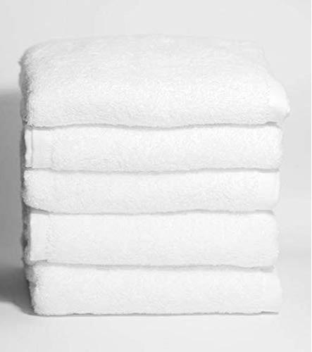 Toallas de peluquería blancas - Toallas de peluquería blancas 100% algodón