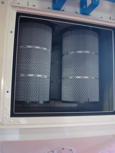 Filtre à cartouches type Asac - Filtre à cartouches pour fumées à décomatage automatique