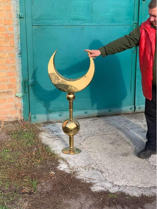 Мусульманский полумесяц - Мусульманский полумесяц для установки на мечеть