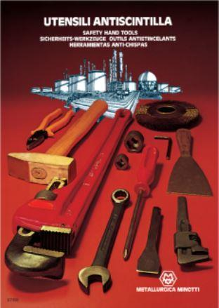 METALMINOTTI - ANTI-SPARK, NON-MAGNETIC HAND TOOLS - FORGED MZ AND CUBE ALLOYS