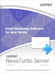 NewsTurbo Server - Email Marketing Software for your own Server