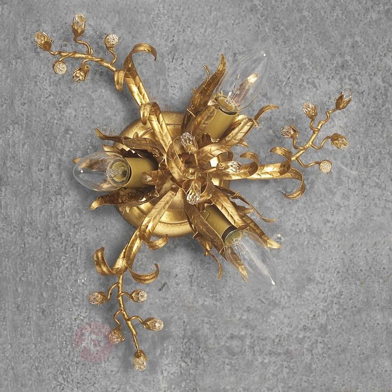Petit plafonnier LATINA à 3 lampes - Plafonniers style florentin