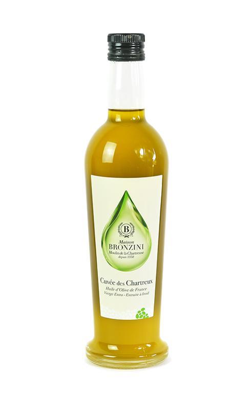 Cuvée des Chartreux Olivia 75CL - Produits oléicoles