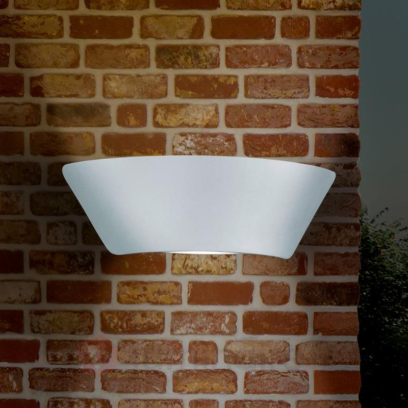 Applique murale ext. LED Sacramento intemporelle - Appliques d'extérieur LED