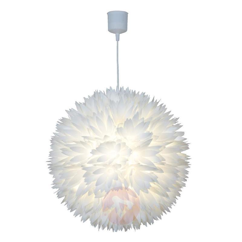 Refreshing Flower hanging light, white - Pendant Lighting