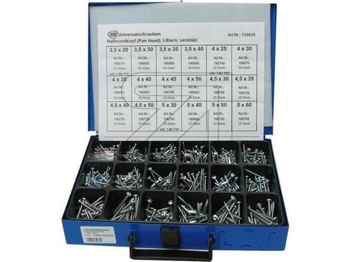 Sortiment Koffer & Boxen - Dresselhaus 8629 Panhead-Sortiment TX25
