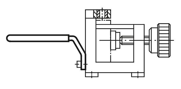 Poignée de manutention pour montages de perçage - Dispositifs de perçage