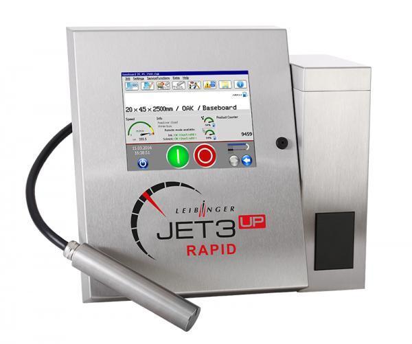 LEIBINGER JET3up RAPID - Industrieller Inkjet-Drucker