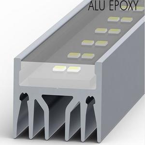 Profilé aluminium led encastré
